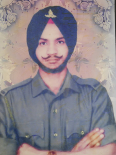 Photo of Major Singh, victim of extrajudicial execution on May 03, 1987, in Mallanwala, by Punjab Police