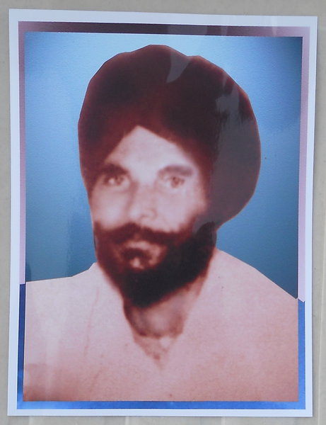 Photo of Kartar Singh, victim of extrajudicial execution on June 28, 1984 by Border Security Force; Central Reserve Police Force; ArmyBorder Security Force; Central Reserve Police Force; Army