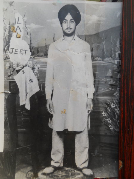 Photo of Laljit Singh, victim of extrajudicial execution between November 1, 1988 and December 31,  1988, in Firozpur, by Punjab Police; Criminal Investigation Agency