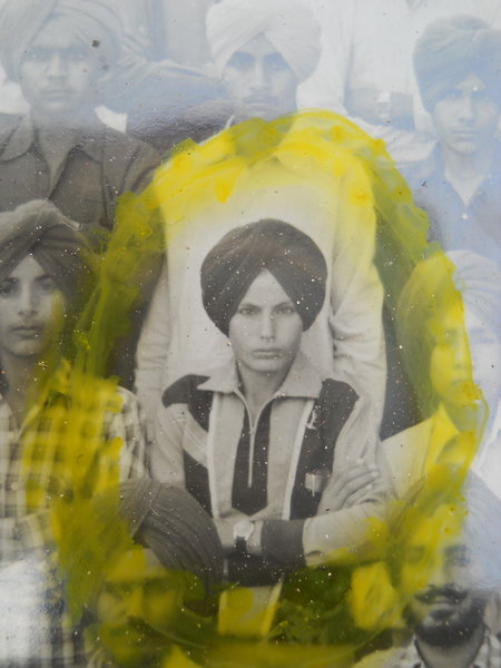 Photo of Baljinder Singh, victim of extrajudicial execution between March 1, 1990 and April 30,  1990, in Ghall Khurd, Moga, by Punjab Police