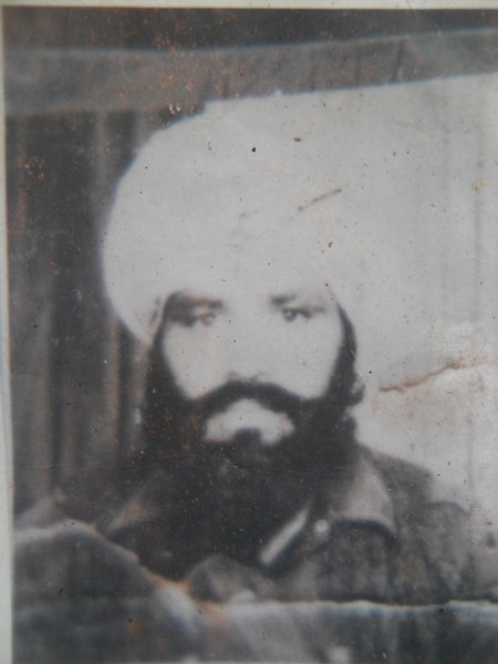 Photo of Piyara Singh, victim of extrajudicial execution between April 13, 1988 and April 30,  1988Punjab Police
