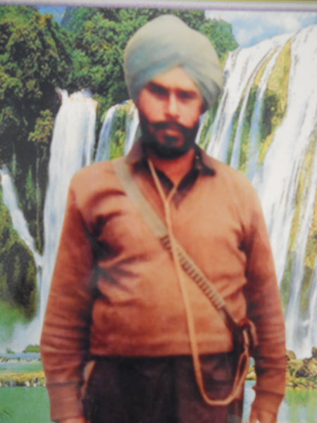 Photo of Darbara Singh, victim of extrajudicial execution on February 02, 1991, in Valtoha, by Punjab Police