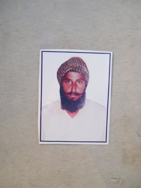 Photo of Dhiyan Singh, victim of extrajudicial execution between September 9, 1991 and September 10,  1991, in Sadiq, by Punjab Police