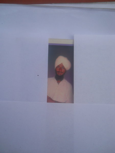 Photo of Kabal Singh, victim of extrajudicial execution on October 19, 1991, in Tutwala, by Punjab Police