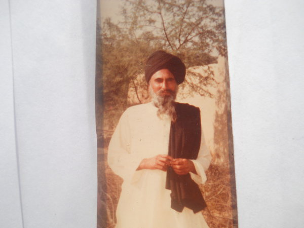 Photo of Mahinder Singh, victim of extrajudicial execution on May 01, 1994, in Moga, by Punjab Police