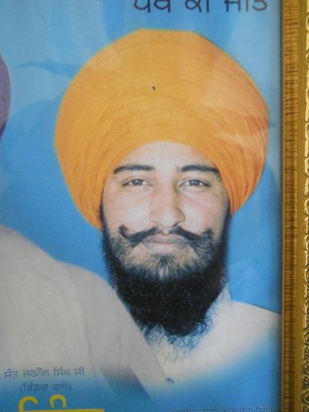 Photo of Gurjeet Singh, victim of extrajudicial execution on November 02, 1991Punjab Police