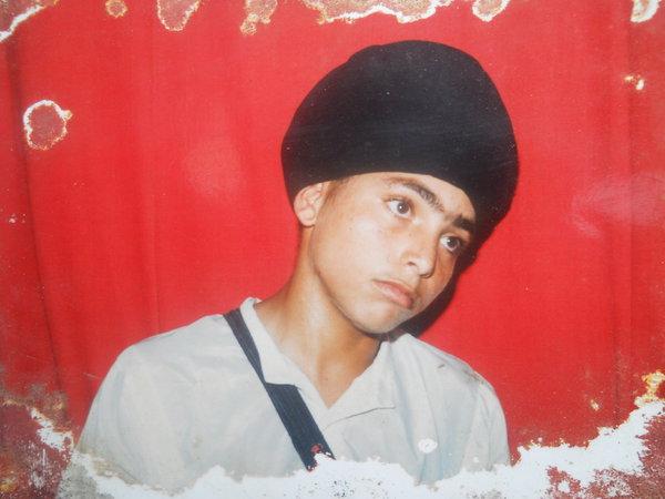 Photo of Gursahib Singh, victim of extrajudicial execution on April 12, 1991, in Sarhali Kalan, Tarn Taran,  by Punjab Police; Central Reserve Police Force, in Sarhali Kalan, Tarn Taran, by Punjab Police