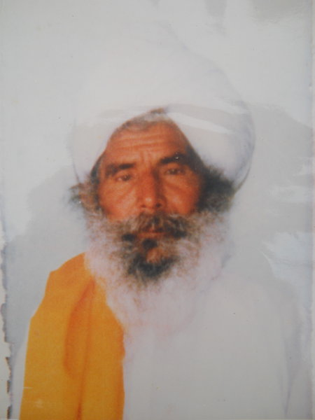 Photo of Bachan Singh, victim of extrajudicial execution on March 15, 1990, in Kot Ise Khan, by Punjab Police; Central Reserve Police Force