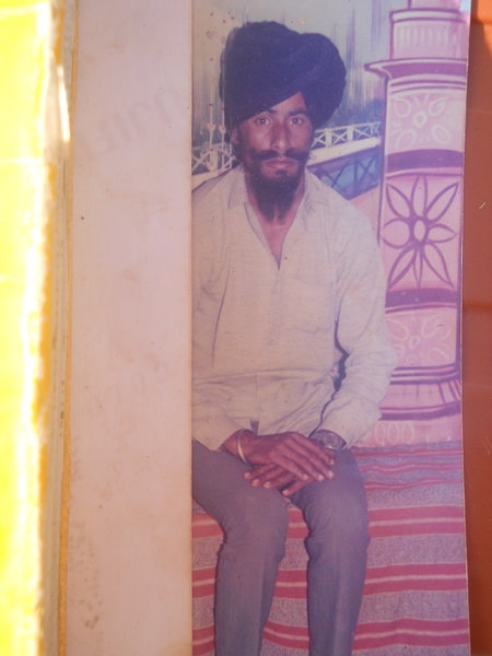Photo of Surjit Singh, victim of extrajudicial execution on January 13, 1990, in Fazilka, Chak Arniwala, by Punjab Police