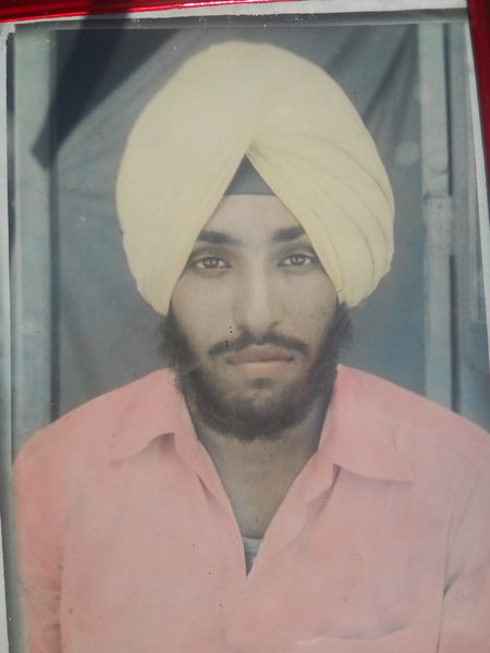 Photo of Sukhchain Singh,  disappeared, date unknown, in Zira,  by Punjab Police