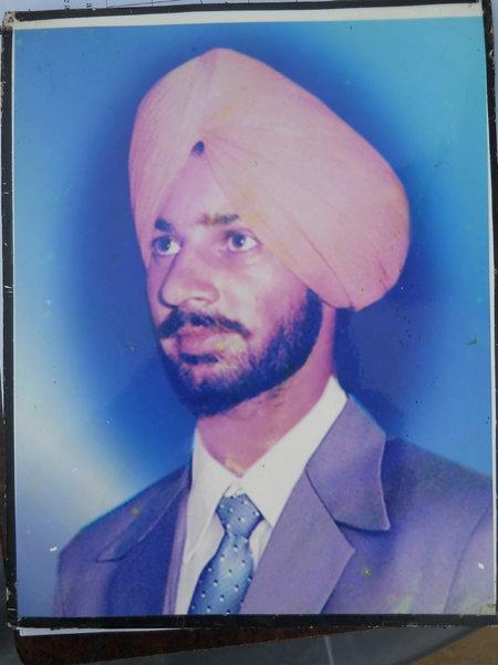 Photo of Gurmail Singh, victim of extrajudicial execution on June 01, 1990Punjab Police