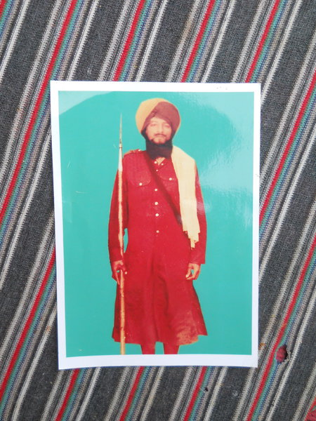 Photo of Gurdev Singh, victim of extrajudicial execution on June 07, 1984Central Reserve Police Force