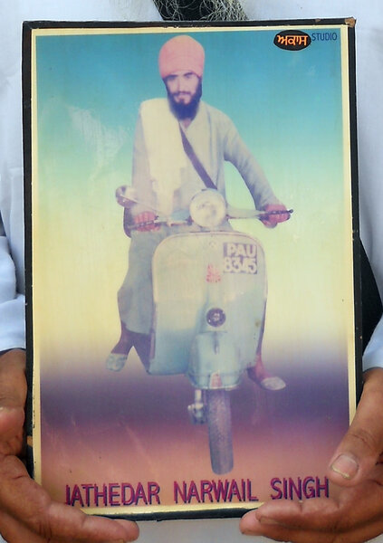 Photo of Nirwail Singh,  disappeared on December 23, 1988 by Punjab Police