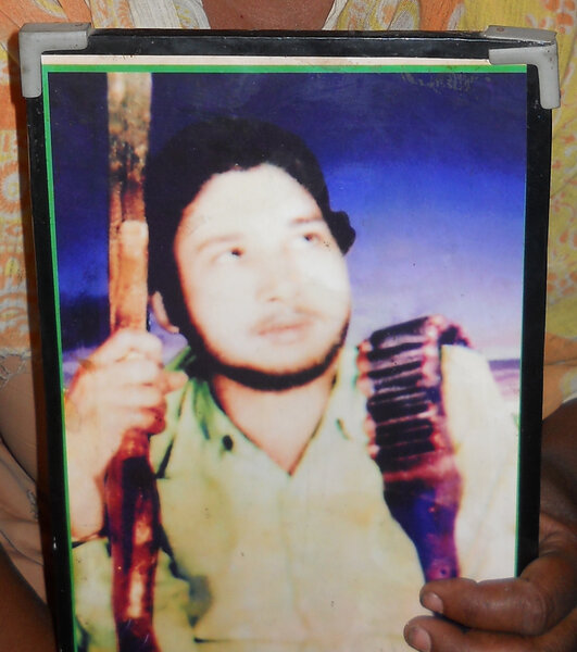 Photo of Mangal Singh, victim of extrajudicial execution on March 07, 1990, in Zira, by Punjab Police