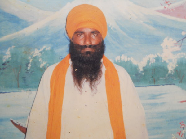 Photo of Jagir Singh, victim of extrajudicial execution on March 5, 1991, in Firozpur CIA Staff, by Punjab Police