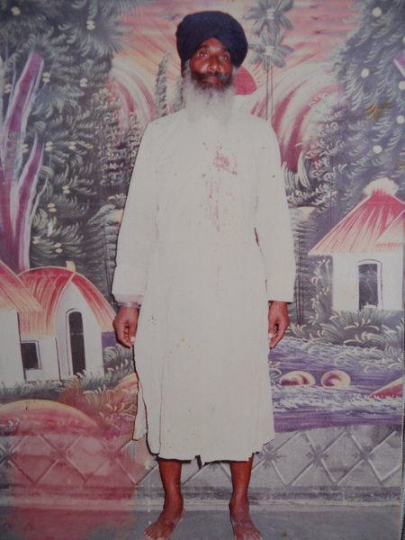 Photo of Suja Singh, victim of extrajudicial execution on March 5, 1991, in Firozpur CIA Staff, by Punjab Police