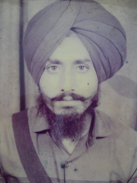 Photo of Jaswant Singh, victim of extrajudicial execution on February 8, 1989, in Firozpur CIA Staff, by Punjab Police