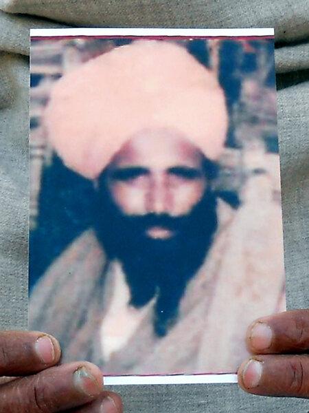 Photo of Fateh Singh, victim of extrajudicial execution on October 31, 1987 by Punjab Police; Central Reserve Police ForcePunjab Police; Central Reserve Police Force