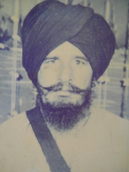 Photo of Anokh Singh, victim of extrajudicial execution between November 20, 1989 and November 21,  1989, in Fazilka, by Punjab Police