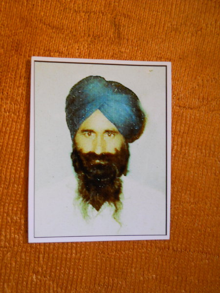Photo of Wan Singh, victim of extrajudicial execution between April 1, 1989 and April 30,  1989, in Mamdot,  by Punjab Police; Central Reserve Police Force, in Mamdot, by Punjab Police; Central Reserve Police Force