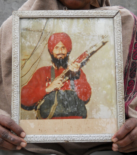 Photo of Kulwant Singh, victim of extrajudicial execution on April 18, 1992, in Mamdot,  by Punjab Police; Central Reserve Police Force, in Zira, by Punjab Police; Central Reserve Police Force