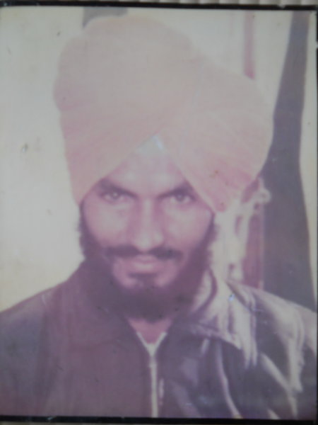 Photo of Jaswant Singh, victim of extrajudicial execution on May 24, 1989Punjab Police