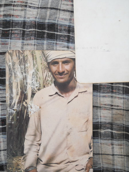 Photo of Balwinder Singh, victim of extrajudicial execution between February 10, 1991 and February 13,  1991, in Makhu, by Punjab Police