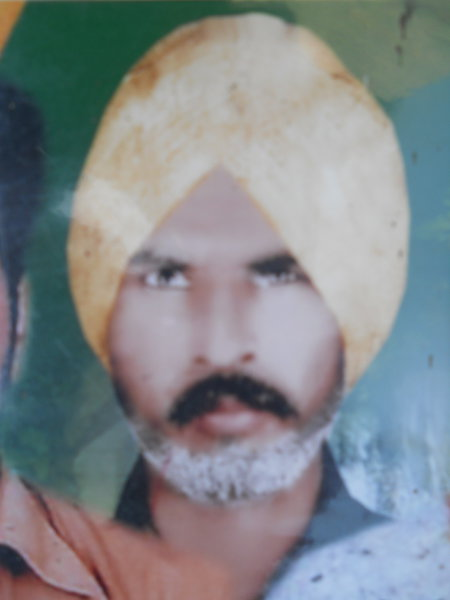 Photo of Darshan Singh, victim of extrajudicial execution between April 1, 1991 and May 31,  1991Border Security Force