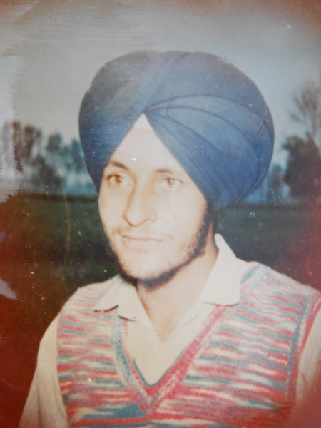 Photo of Balwinder Singh, victim of extrajudicial execution between September 1, 1991 and September 30,  1991, in Mallanwala, by Punjab Police