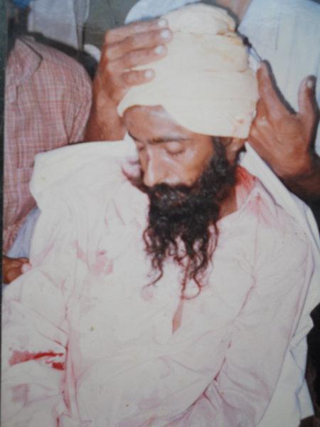 Photo of Jugraj Singh, victim of extrajudicial execution between December 15, 1991 and December 25,  1991, in Makhu, by Punjab Police
