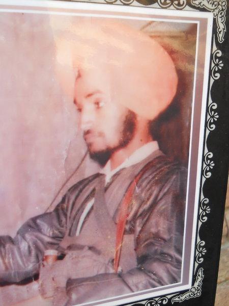 Photo of Jagraj Singh, victim of extrajudicial execution on October 16, 1991, in Mallanwala,  by Punjab Police; Central Reserve Police Force, in Mallanwala, by Punjab Police