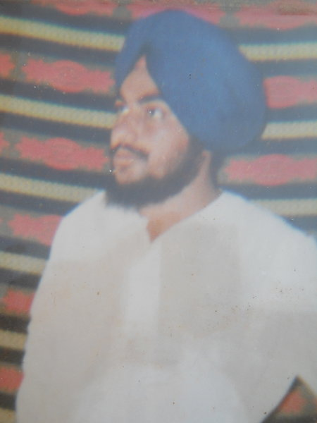 Photo of Jaspal Singh, victim of extrajudicial execution on July 06, 1991Punjab Police