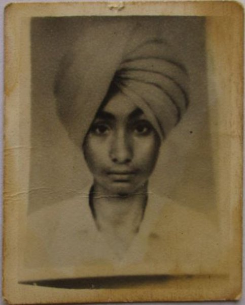 Photo of Dharam Singh, victim of extrajudicial execution on July 29, 1991, in Zira, by Punjab Police