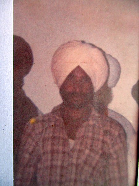 Photo of Prem Singh, victim of extrajudicial execution on October 15, 1989, in Arif Ke CRPF Camp, by Central Reserve Police Force