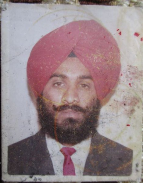 Photo of Dilbagh Singh,  disappeared on June 16, 1992, in Bhagha Purana,  by Punjab Police