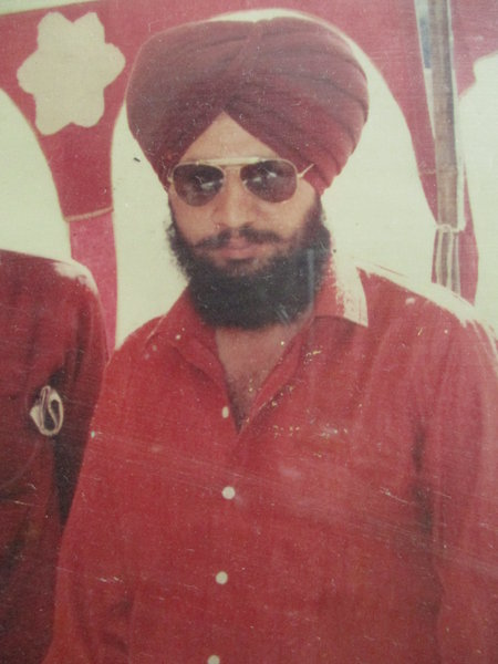 Photo of Jaspreet Singh, victim of extrajudicial execution on May 31, 1990, in Ghall Khurd, by Punjab Police