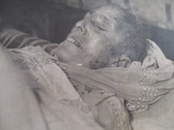 Photo of Dharm Kaur, victim of extrajudicial execution on April 4, 1983, in Firozpur, by Punjab Police