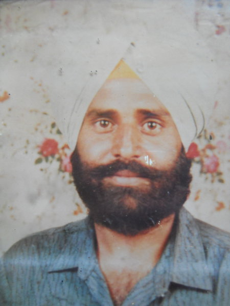 Photo of Kulwant Singh, victim of extrajudicial execution between July 7, 1993 and September 10,  1993Punjab Police