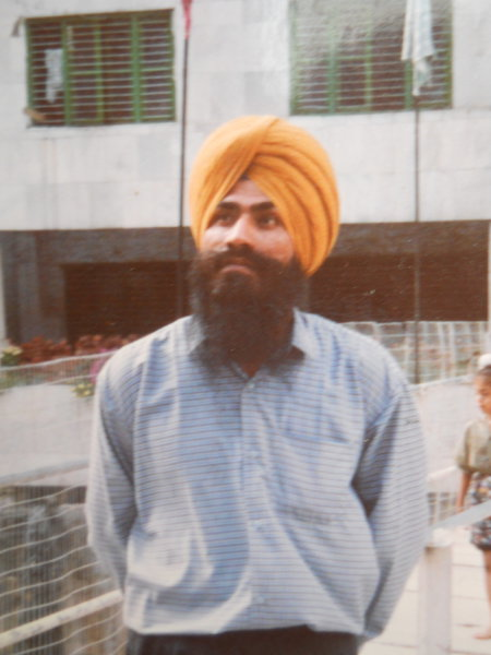 Photo of Manjeet Singh, victim of extrajudicial execution between August 1, 1992 and August 5,  1992, in Dera Baba Nanak, by Punjab Police; Central Reserve Police Force; Criminal Investigation Agency