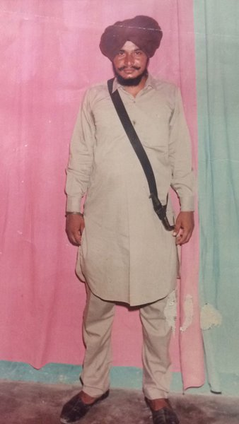 Photo of Parminderjit Singh,  disappeared on March 9, 1988, in Kathu Nangal,  by Punjab Police