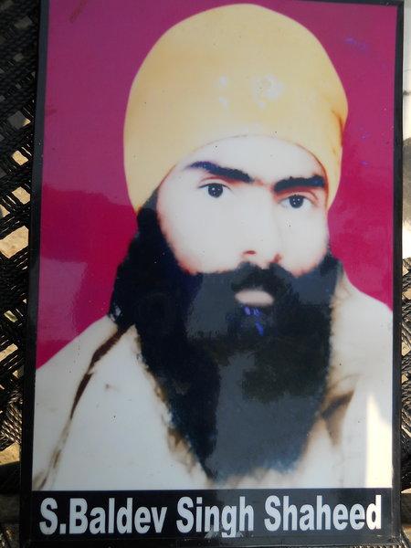 Photo of Baldev Singh, victim of extrajudicial execution on April 18, 1993, in Gurdaspur, by Punjab Police