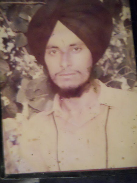 Photo of Malook Singh,  disappeared on December 12, 1988, in Batala,  by Punjab Police