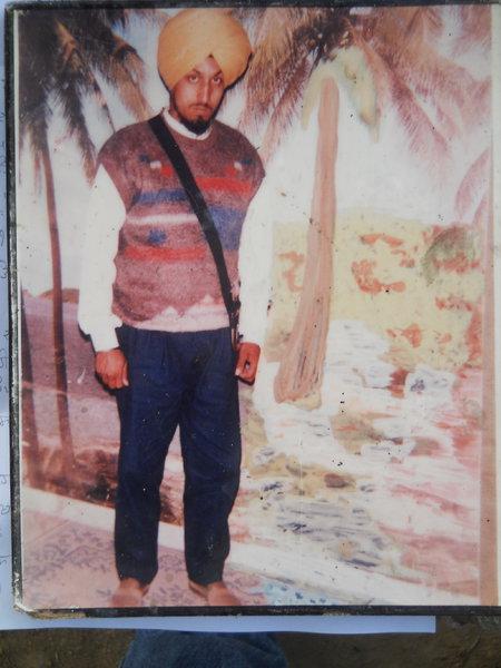 Photo of Hardev Singh, victim of extrajudicial execution on November 12, 1991, in Tarn Taran, by Punjab Police