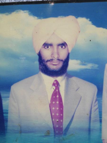 Photo of Major Singh, victim of extrajudicial execution on October 09, 1991, in Qadian, Gurdaspur, Sri Hargobindpur, by Punjab Police; Central Reserve Police Force
