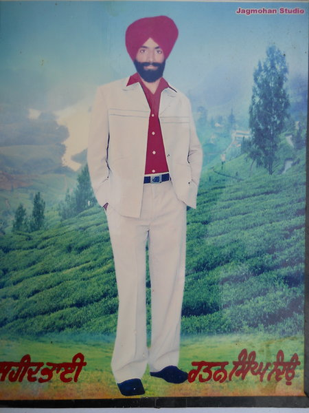 Photo of Ratan Singh, victim of extrajudicial execution on June 30, 1991, in Dhariwal, by Punjab Police