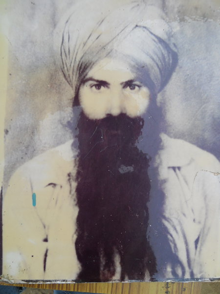 Photo of Harwant Singh, victim of extrajudicial execution on August 27, 1990Punjab Police