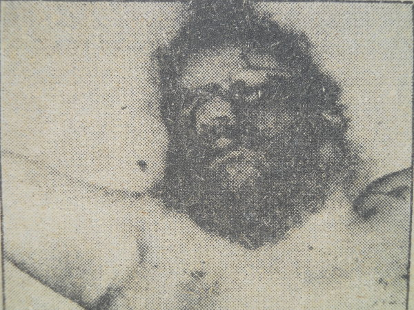 Photo of Pritam Singh, victim of extrajudicial execution on August 24, 1987, in Dhariwal, by Punjab Police; Border Security Force