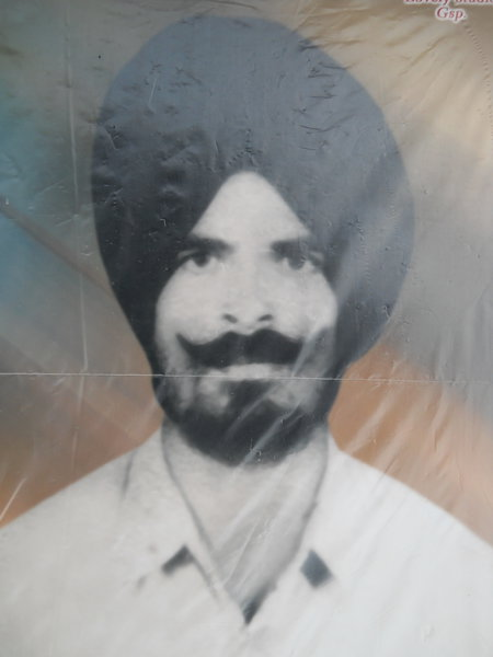Photo of Bawa Singh, victim of extrajudicial execution on March 03, 1993, in Gurdaspur, by Punjab Police