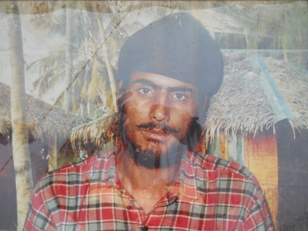 Photo of Prabsharan Singh, victim of extrajudicial execution between October 6, 1991 and October 7,  1991, in Batala, Qadian,  by Punjab Police; Central Reserve Police Force, in Batala, Qadian, by Punjab Police; Central Reserve Police Force