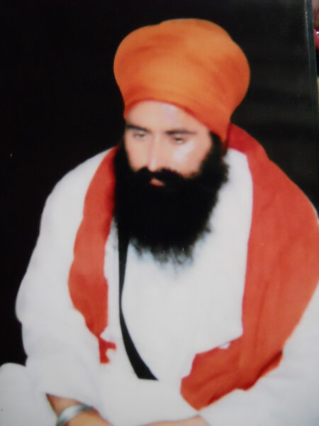 Photo of Attar Singh,  disappeared on July 14, 1993, in Khalchian,  by Punjab Police